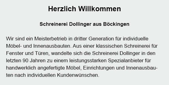 Innenausbauten für  Reichartshausen - Aglasterhausen, Schwarzach oder Epfenbach