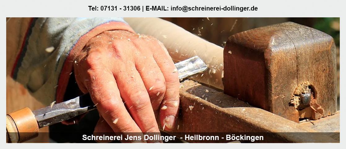 Möbel nach Maß für Winnenden - Schreinerei Jens Dollinger: Innentüren, Treppensanierung, Einbauschränke