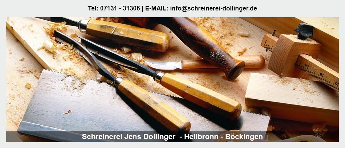 Möbelschreiner für Walheim - Schreinerei Jens Dollinger: Garderobe, Treppensanierung, Einbauschränke