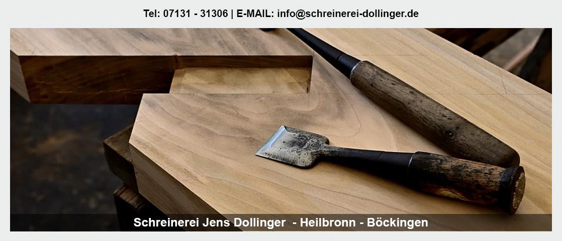 Möbelschreinerei Kirchheim (Neckar) - Schreinerei Jens Dollinger: Treppenrenovierung, Holztüren, Badmöbel